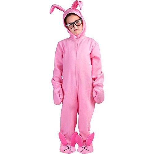 Christmas Story Costumes - A Christmas Story Kid Pink Bunny