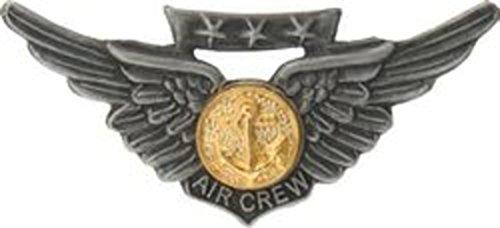 Naval Air Crew Wings Lapel Pin or Hat (Naval Aircrew Wings)