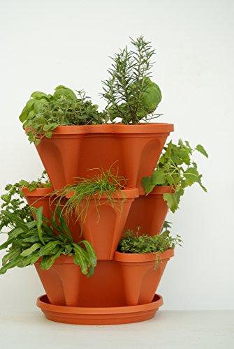 3 tier pot - 9
