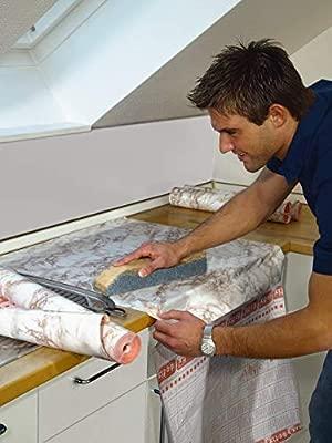 d-c-fix Sticky Back Plastic self adhesive vinyl film Marble Cortes Brown 45cm x 2m 346-0120