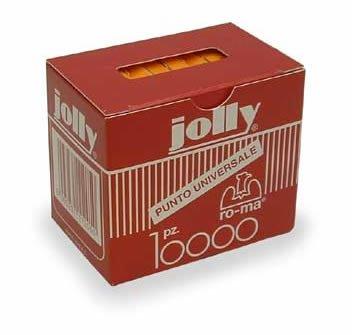 RO-MA confezione da 10 pezzi - scatola 1000 punti jolly oro 6/4 ro-ma 18005231011220
