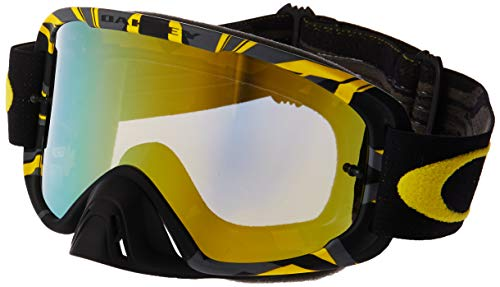 8e98a3a3b1d Oakley O2 MX Intimidator Men s Dirt Off-Road Motorcycle Goggles Eyewear -  Gunmetal Yellow