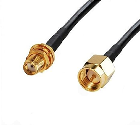 RG316 SMA MALE to SMA MALE Coaxial RF Pigtail Cable from 2 inch up to 10 feet US