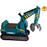 Baybee JCB Mighty Truck Ride-on (Blue)