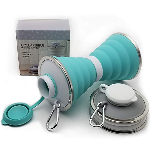 HydroZone-Collapsible-Water-Bottle-with-Carabiner-Ultra-Portable-BPA-Free-Leakproof-Silicone-Premium-Lightweight-Reusable-Foldable-Water-Bottles-for-Travel-Sports-and-Hiking-17oz