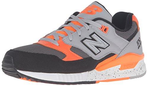 New Balance W530, Zapatillas de Gimnasia para Mujer Gris / Naranja