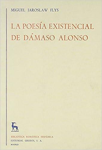 poesía existencial de Dámaso Alonso