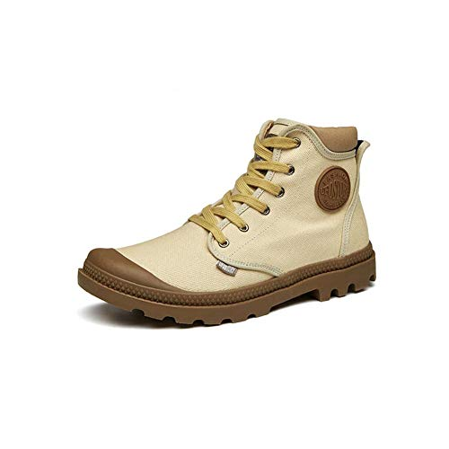 Air Martin Brown Hauts Toile Chaussures Hommes Plein Ff Bottes De xTwO7qvtPF