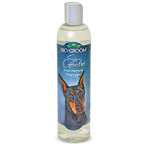 Bio-groom DBB25012 So Gentle Hypo-Allergenic Dog and Cat Shampoo, 12-Ounce