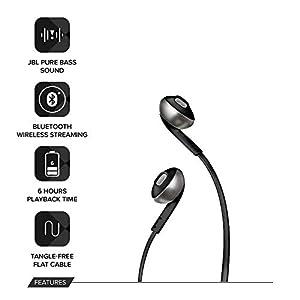 Best JBL Pure Bass Wireless Metal Earbud Headphones in India 2020