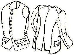 Sleeved Waistcoat - 18th Century Revolutionary War Sleeved Waistcoat/vest Pattern
