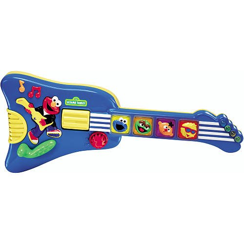 Sesame Street Elmo's Rock & Roll Guitar (Rock Street Roll)