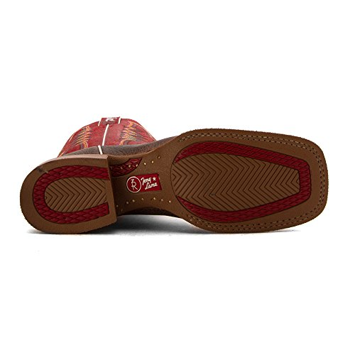 Tony Lama Mens Lockhart 3R Stockman Boot Round Toe - 3R1131 Caf C0whfl