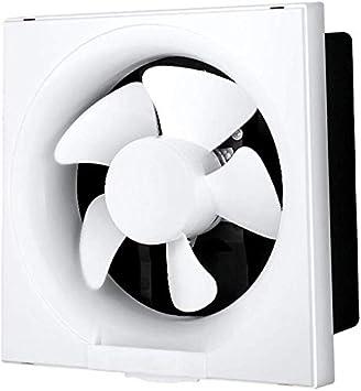 Knoijijuo Los extractores de Aire de Tipo lumbrera Cocina Baño Ventilador de Gran Alcance de Alta Potencia silenciosa Pared 6 Pulgadas (38.5dB), 8 Pulgadas (42dB),8inch