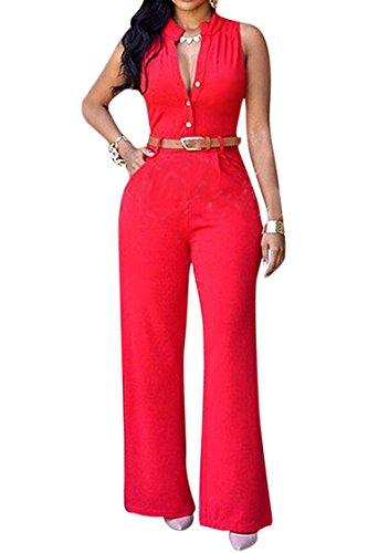 Pink Queen Womens Jumpsuits Elegant product image