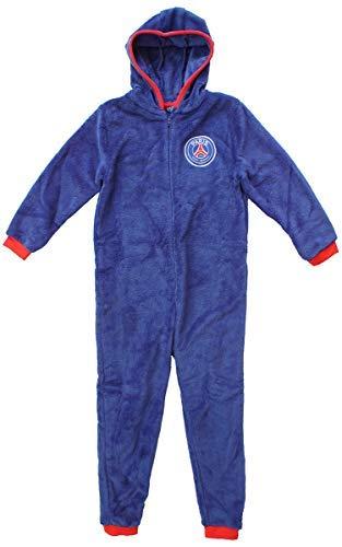 Paris Saint Germain FC - Pijama de una pieza - para niño azul azul 3-