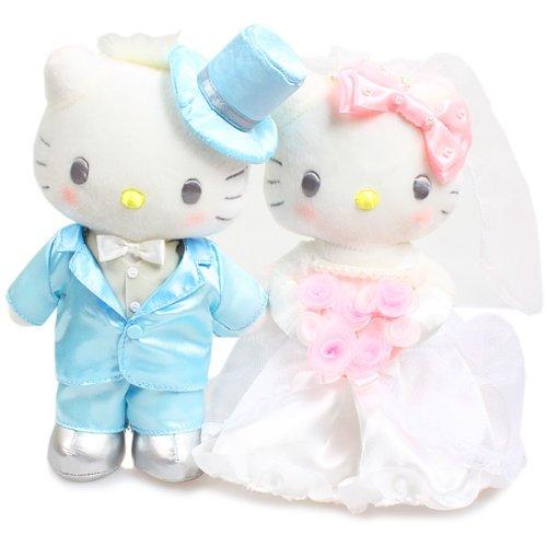 [Hello Kitty] wedding doll stuffed Rose wedding series (japan import)