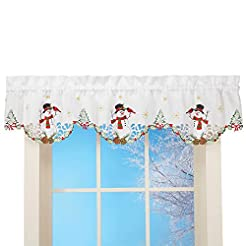 Collections Etc Snowman Cardinal Window ...