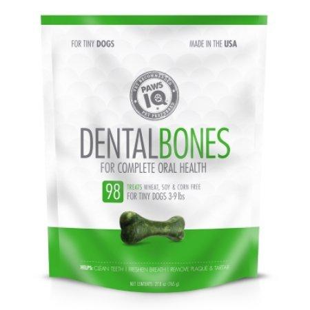 Paws IQ Dental Bones Tiny - 27oz