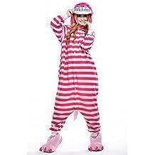 Sunrise Adult Giraffe Onesie Costume Kigurumi Pajamas (Large, Cheshire Cat)