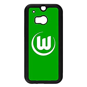 Simple Design VfL Wolfsburg Phone Case Cover for Htc One M8 FC Logo Unique Design