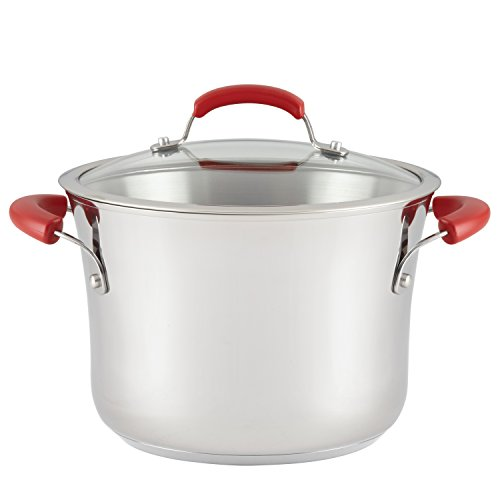 Rachael Ray Classic Brights Stainless Steel Nonstick Covered