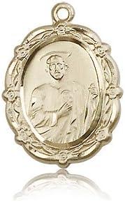14ktゴールドSt Jude Medal