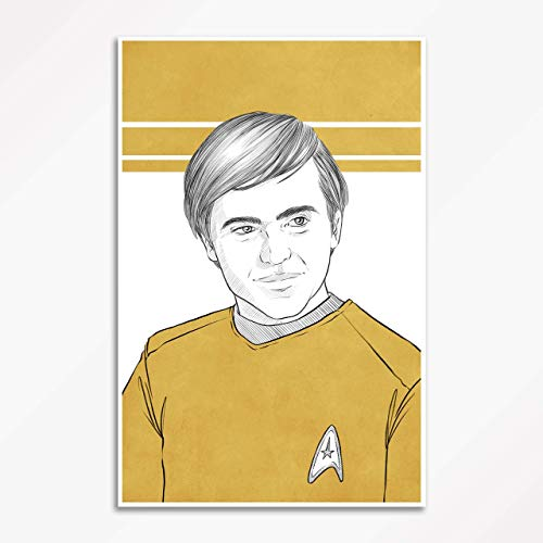 TOS Ensign Pavel Chekov - Star Trek - Signed Art Poster