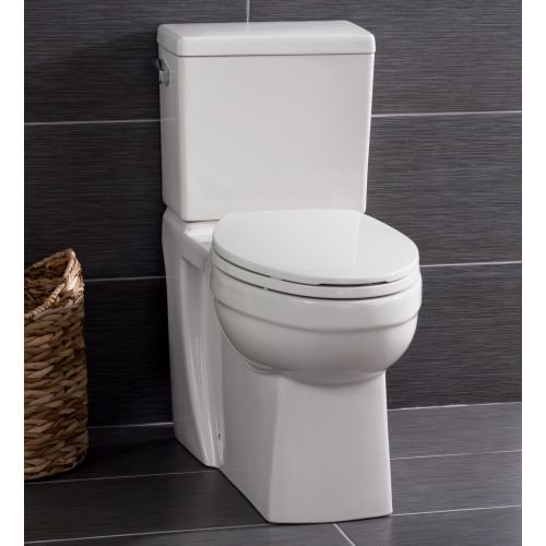 Miseno MNO370C Two-Piece Toilet with Chair Height Elongated Bowl and ...