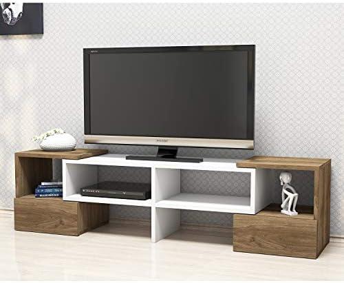 Home Factory Mesa para Televisor Fold: Amazon.es: Hogar