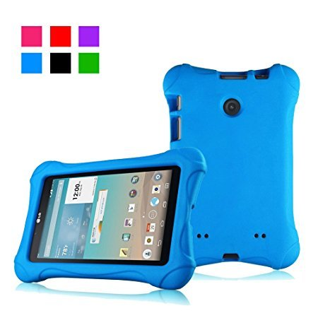 Bolete Ultra Light Weight Shock Proof Protective Case for LG G pad V400 / V410 (LTE) / UK410 / VK410 7 inch LG Tablet - - V410 Lg Screen Tablet Protector