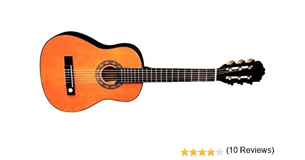 Tenson Classic F500040 - Guitarra, color miel: Amazon.es ...