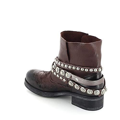 Rouge Boots METISSE ciselé en Cuir wxTU7qIO