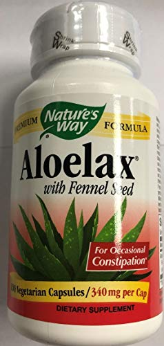 Nature's Way, Aloe Lax, 100 Veg Capsules