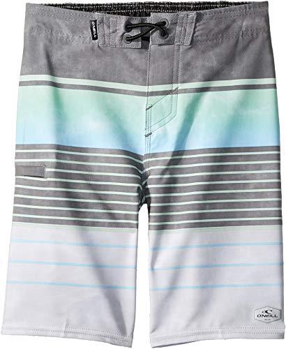 (O'Neill Kids Baby Boy's Hyperfreak Heist Swim Shorts (Toddler/Little Kids) Grey Large )
