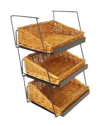 3-Tier 3 Rectangular Willow