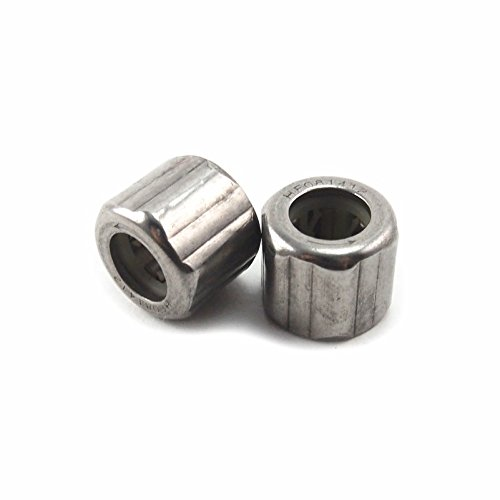 Generic EWC0812 8x14x12mm Metal One Way Clutch Needle Roller Bearing (Pack of 2) AceTimes