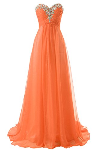 Buy long sweetheart neckline prom dresses - 4