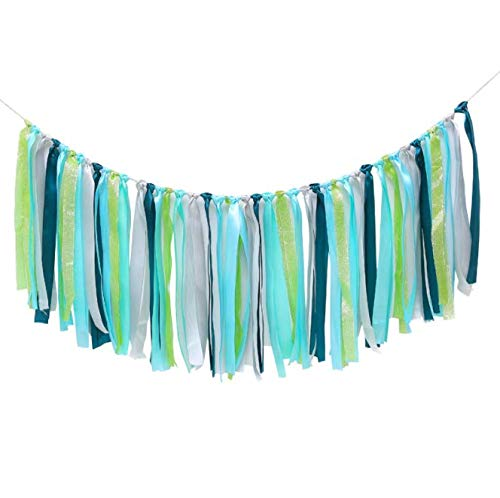 Spring+ Colorful Ribbon Tassel Garland Already Assembled for