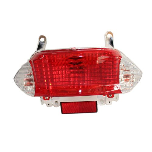 Poweka New Chinese Gy6 50cc 125cc 150cc Scooter Moped Rear Tail Light Assembly Taillight