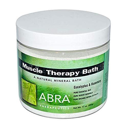 Abra Muscle Therapy Sea Salt Bath, Eucalyptus & Rosemary, 1 Pound