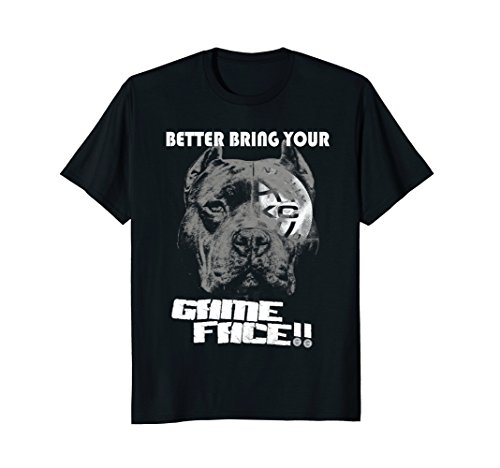 ABKC Better Bring Your Game Face Bully Pit Bull shirt ()