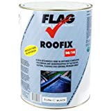 Roofix 20/10 (Multisurface) Roof & Gutter Repair 5 litre Black, Grey or White (Black)