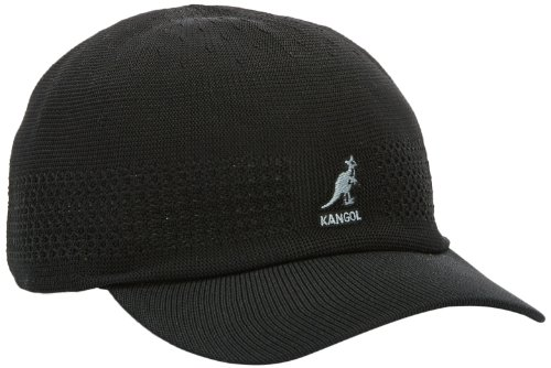 Kangol Men's Tropic Vent Air Space Cap, Black, (Kangol Black Hat)