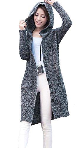 topmodelss レディース 春秋 カットソー カーディガン ゆとり Vネック ロング丈 セーター オーバー 長袖 ジャケット おしゃれ シンプル 無地 心地よい 柔らかい