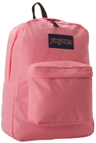 JanSport Superbreak Backpack Pink Pansy One Size
