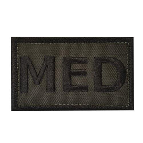 MED EMS Olive Drab OD Green Paramedic Combat Medic EMT Tactical Morale Tactical Fastener Patch