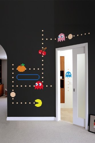 Blik Pac Man Ghost Wall Decals