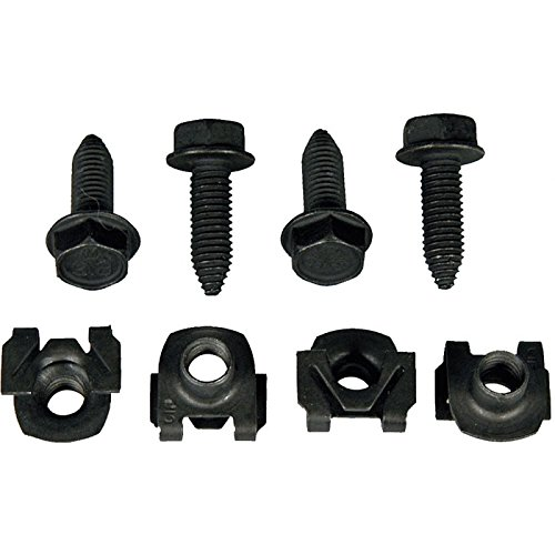 Eckler's Premier Quality Products 33186419 Camaro Front Lower Shock Mounting (Lower Shock Nut)