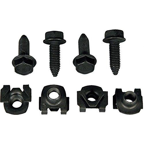 Lower Shock Bolt - Eckler's Premier Quality Products 33186419 Camaro Front Lower Shock Mounting Hardware
